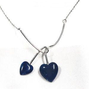 2 Hearts Knot pendant NT-18